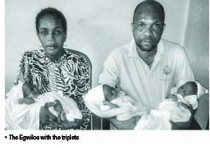 couple needs help raising triplet