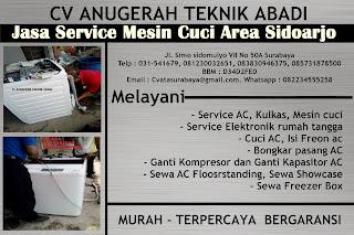 Jasa Service Mesin Cuci Area Sidoarjo