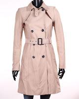 Palton Zara Dama Cassy Buttons Detail (Z )