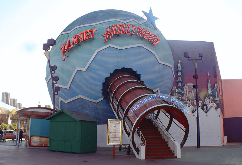 planet hollywood disneyland paris