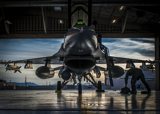 U.S. AIR FORCE SELECTS HOLLOMAN AFB FOR INTERIM F-16 TRAINING