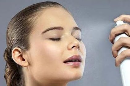 Perawatan Kulit Wajah Kering Dengan Spray Air Garam