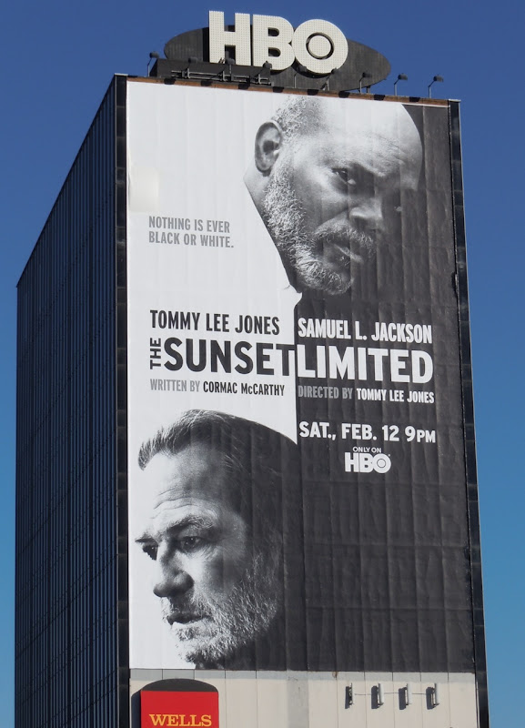 The Sunset Limited billboard
