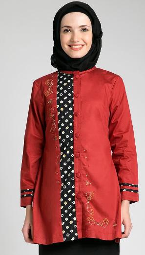 Trend Model Baju Muslim Kebaya Untuk Ibu Hamil