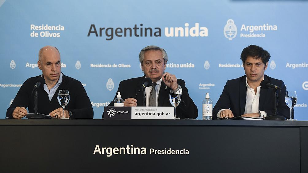 Alberto Fernández: Vamos a prorrogar el aislamiento hasta el 7 de junio inclusive