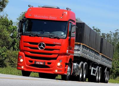 Mercedes-Benz anuncia crescimento das vendas de caminhões extrapesados no Sul do País