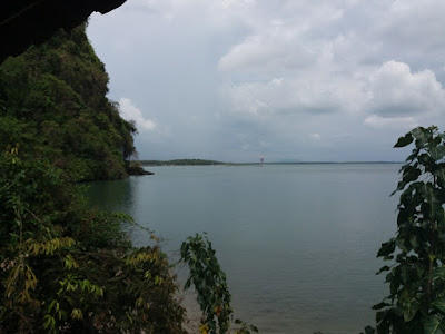 photo from the dugong viewpoint at Ko Libong