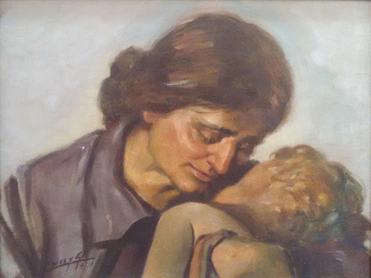 La madre, Celeste WOss y Gil, 1941