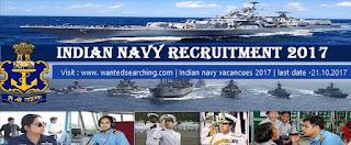 indian navy job vacancies 2017