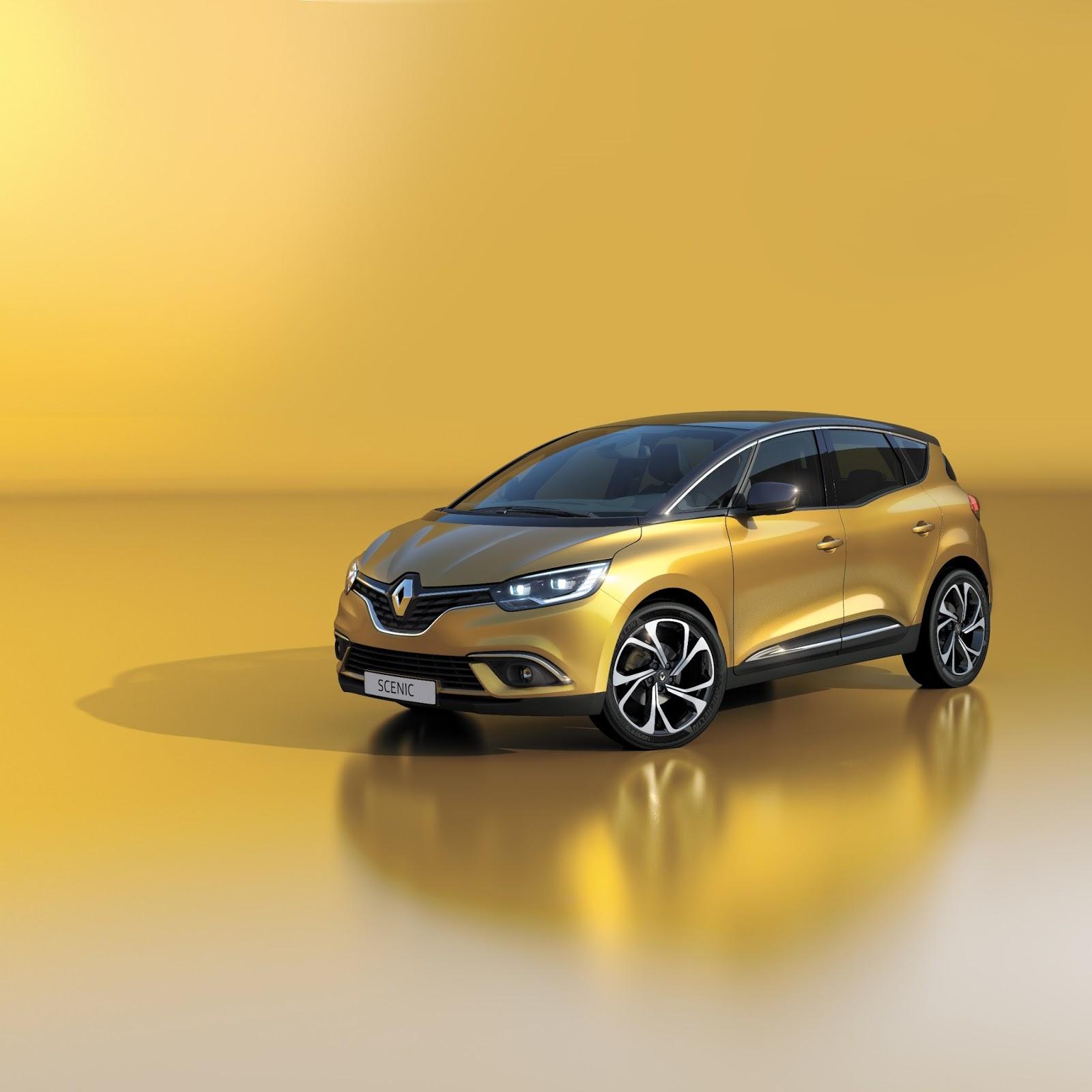 00097376 l Η Renault αποκαλύπτει το νέο Renault Scenic και Renault Megane Estate 86η Έκθεση Γενεύης, autoshow, MPV, Renault, Renault Megane Estate, Renault Scenic, Station Wagon
