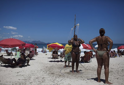 women of brazil, afro brazilian women on the beach in rio