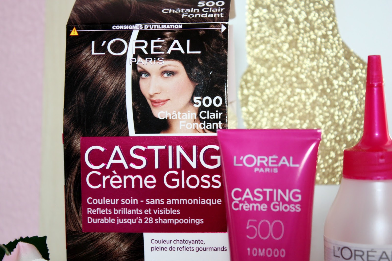 Coloration cheveux sans ammoniaque casting creme gloss