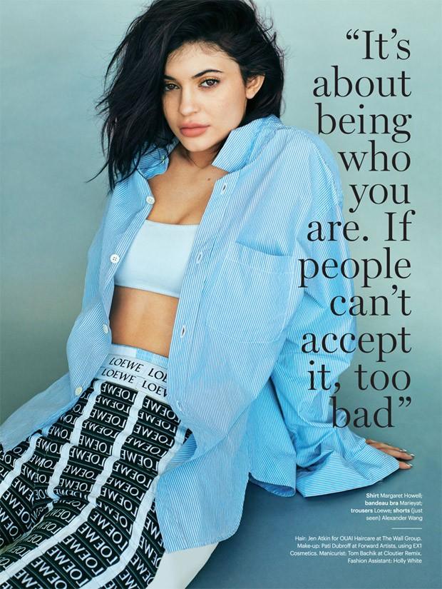 Kylie Jenner at Glamour Magazine