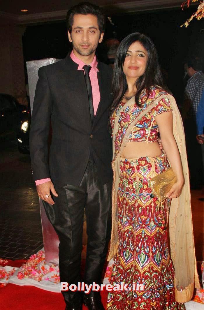 Rajiv Roda, Shibani Kashyap, Siddharth Kannan & Neha Agarwal Wedding Reception Pics