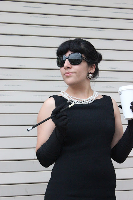 Holly Golightly DIY Costume