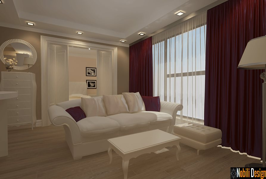 Design Interior - Amenajari Interioare - Design interior living apartament Constanta