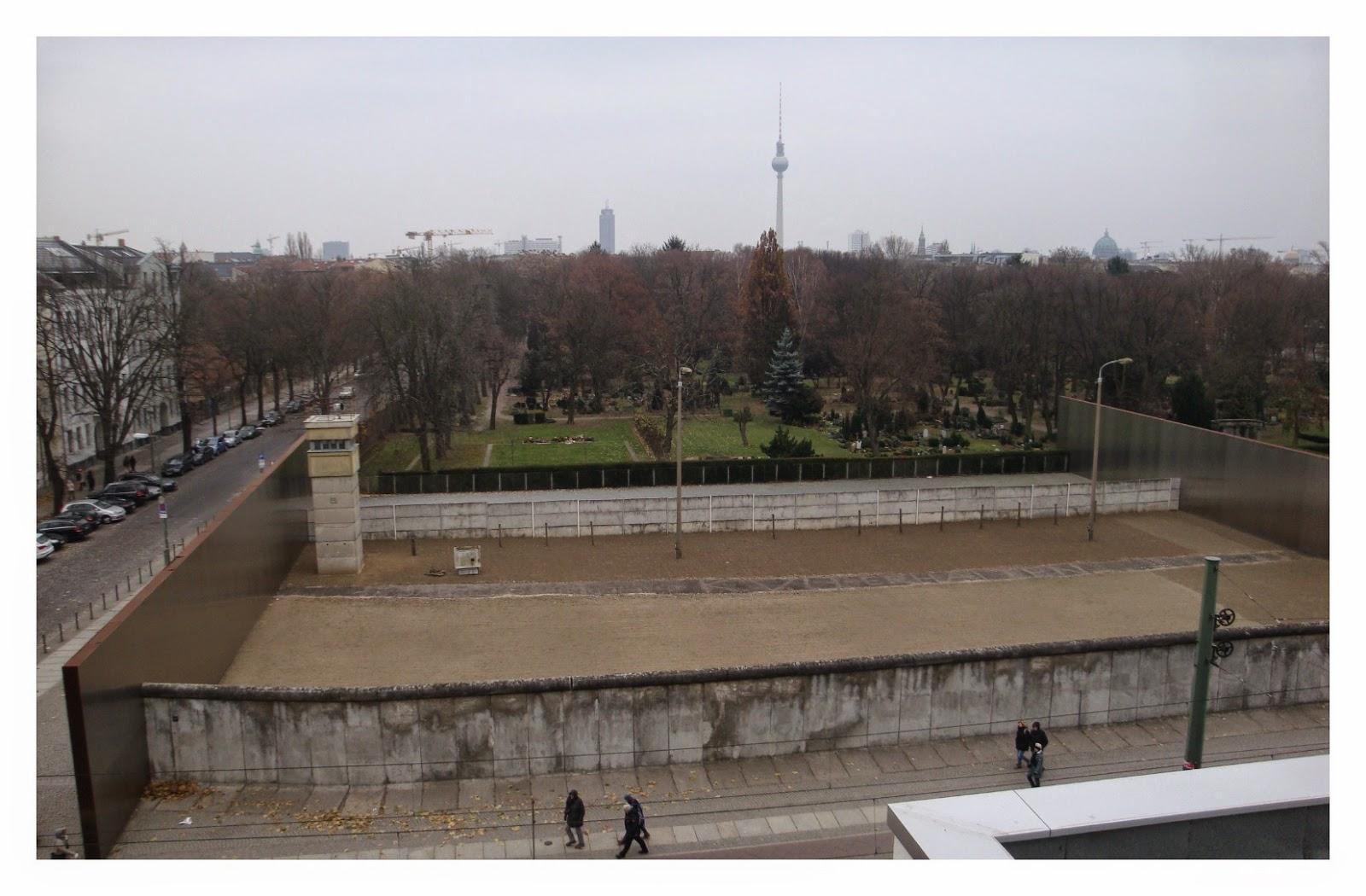 Memorial do Muro de Berlim na Bernauer Straße
