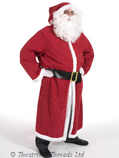 Father Christmas Coat Costume from Theatrical Threads Ltd