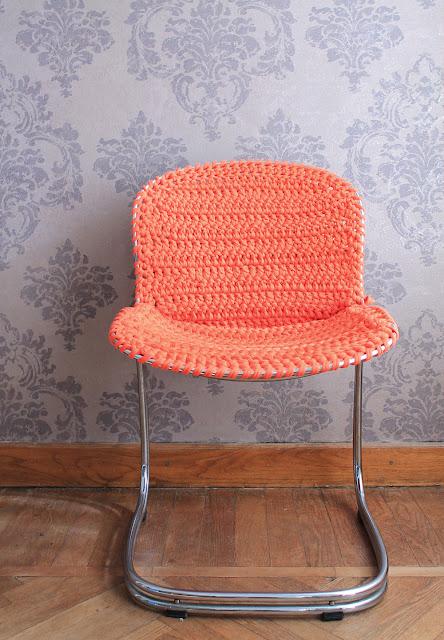Lorendesign trasformazione di una sedia dal design anni 60 for Sedia design originale