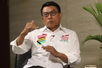 Moeldoko Sebut Kekalahan Jokowi di Jabar dan Aceh karena Serangan Isu Agama