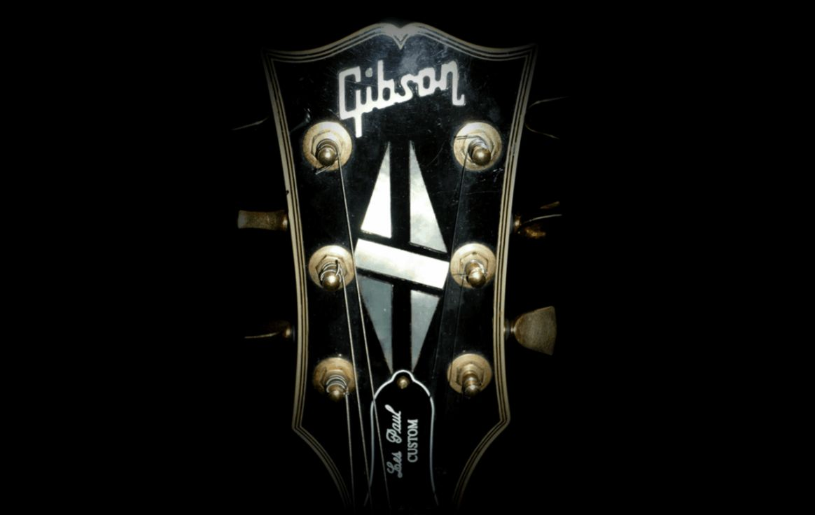 Logo Gibson Guitar Music Hd Walpaper Wallpapers Lovers
