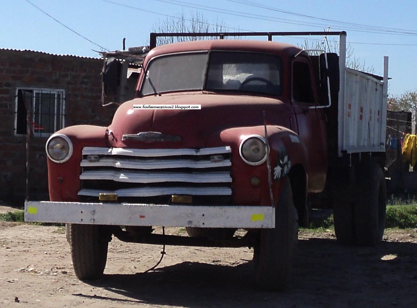 Vistoso 1947 Bastidor Del Camión Chevy Festooning - Ideas ...