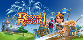 Royal Revolt Mod v1.6.0 APK+DATA [Unlimited Coins+Gems]