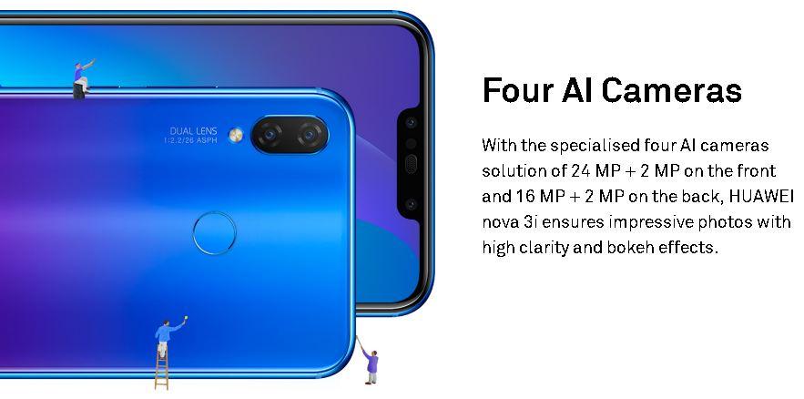 Huawei Nova 3i Smartphone | Advanced Features Technology | Technology