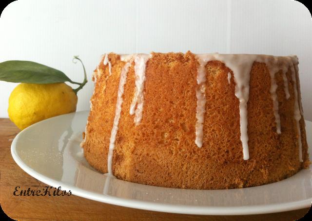 chiffon cake de limon