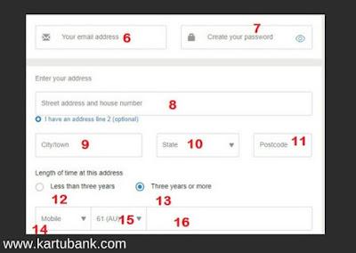Gambar 2 tutorial Cara Daftar Western Union Online di Semua Negara