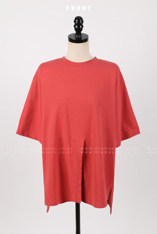 Slit Hem T-Shirt