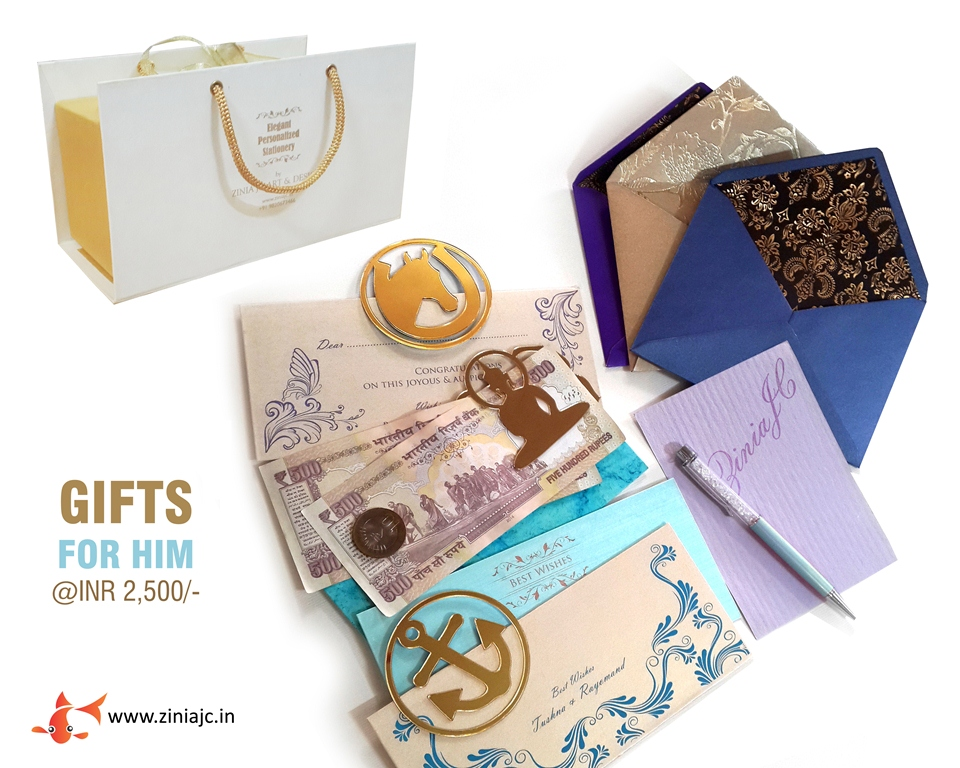zinia jc custom designed gift items and personalized stationery