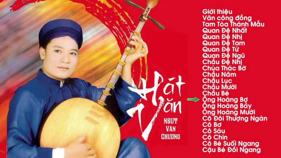 CD Hát Chầu Văn- Khắc tư-Trọng Quỳnh-Thanh Long-Văn Chung,Văn Chương
