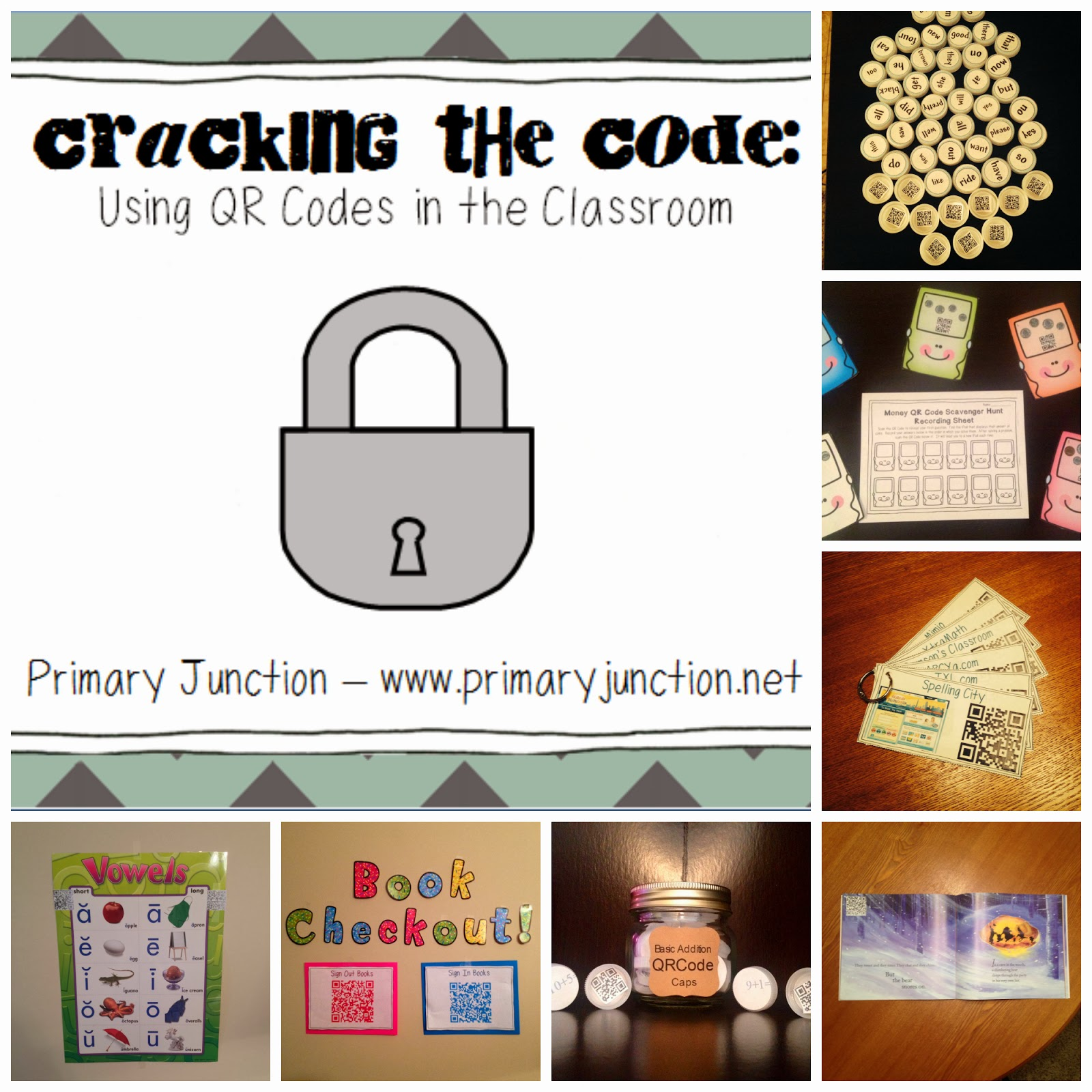 Primary Junction Cracking The Code Using Qr Codes In The