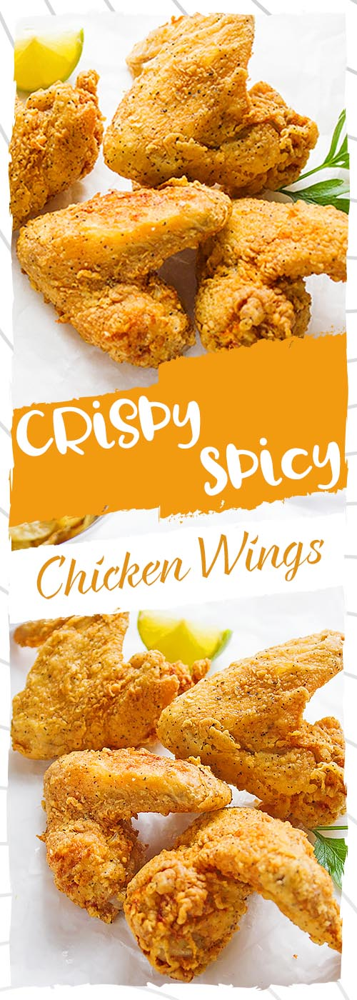 Crispy Spicy Chicken Wings Recipe