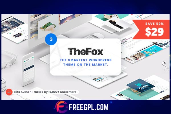 TheFox - Responsive Multi-Purpose WordPress Theme Free Download