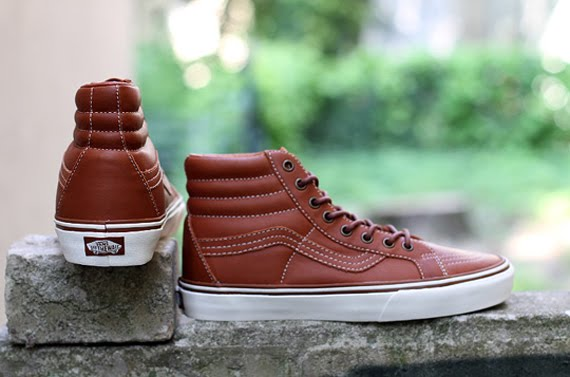 Vans has shown us several times over the years that a premium brown leather  construction can make their classic skate silhouettes look the part of a  full-on ... 779e275a4f