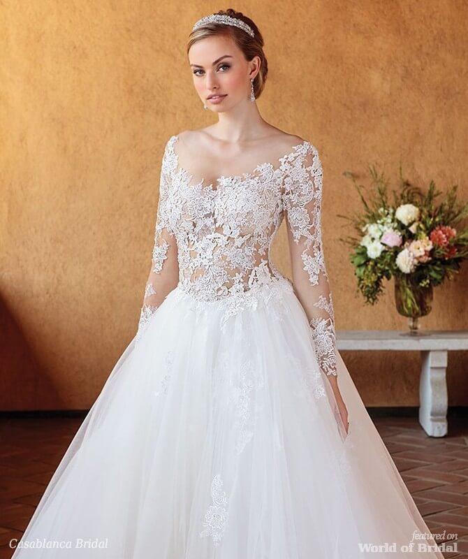 Casablanca Bridal Spring 2018 Wedding Dresses World Of Bridal