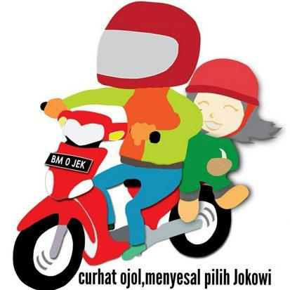 Curhat Ojol yang 'Nyesel' Pilih Jokowi