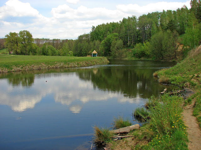 Сорокопень, пруд на реке