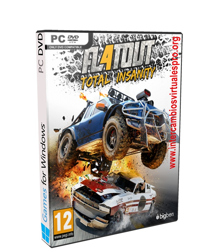 FlatOut 4 Total Insanity poster box cover