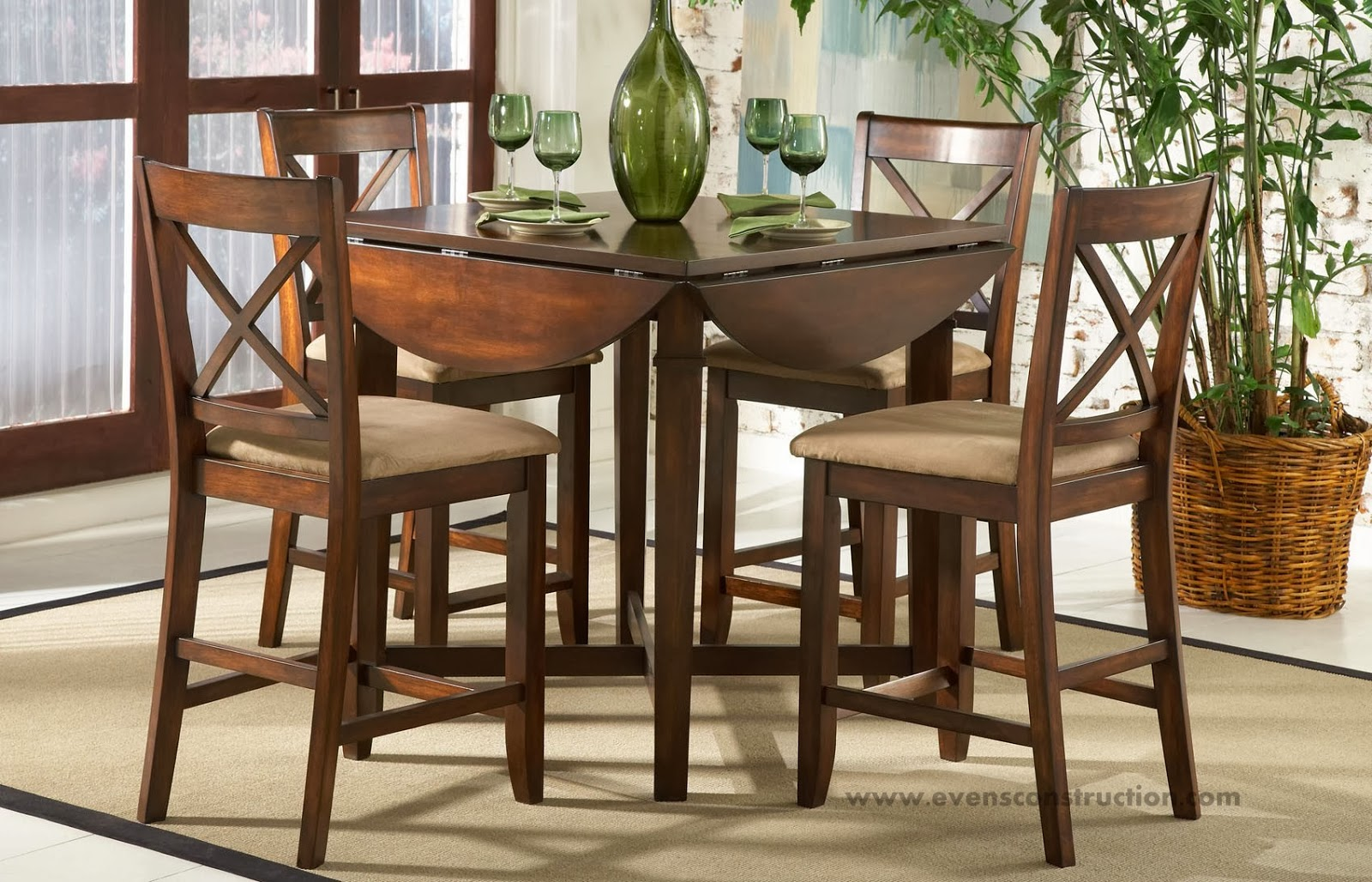 dining room sets for small spaces evens construction pvt ltd wooden dining table gallery 9280