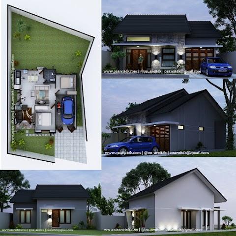 Desain Rumah Ibu Theresia di Salatiga