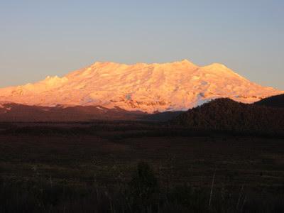 Volcán Tongariro. Parque Nacional Tongariro, Nueva Zelanda