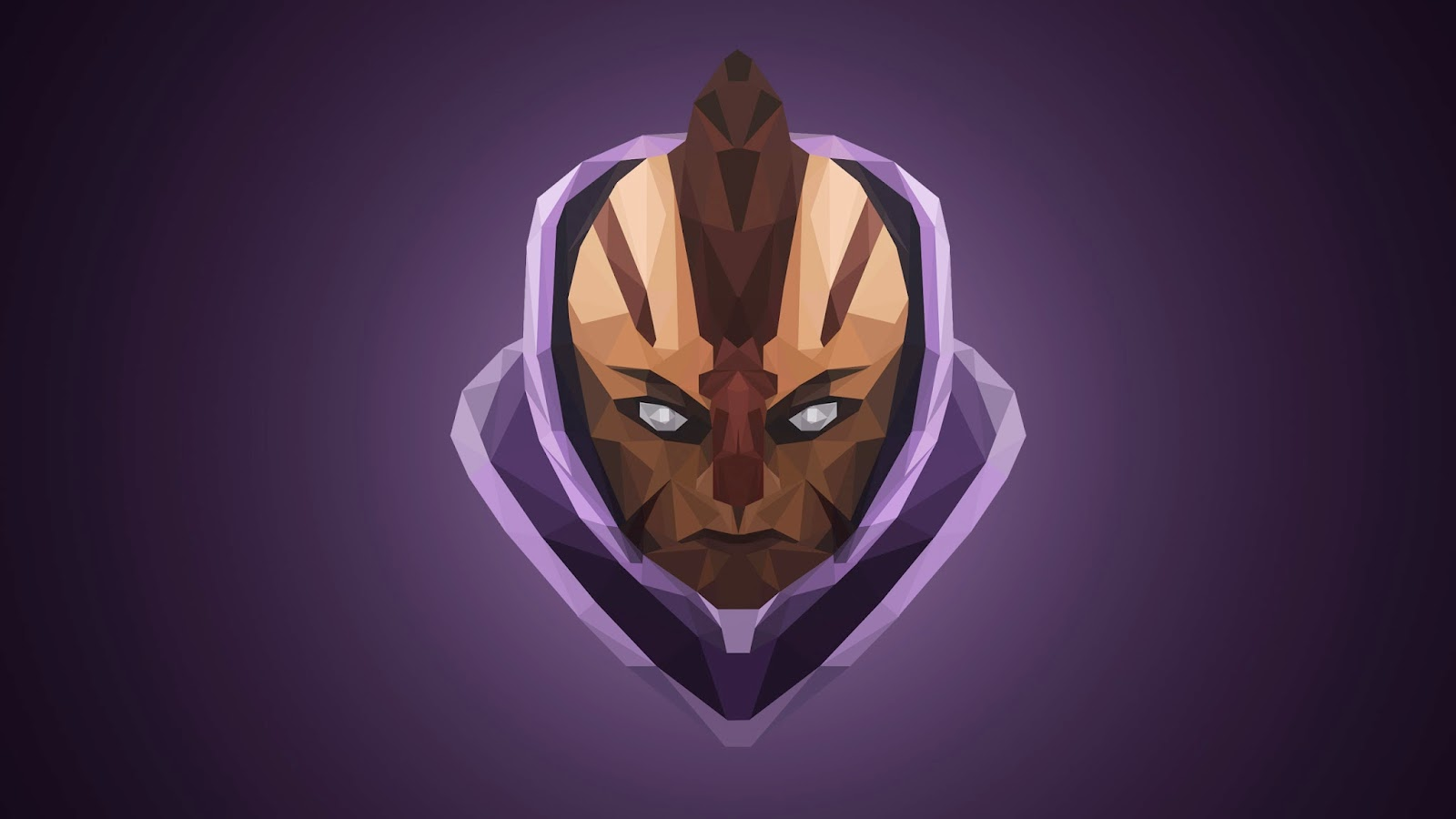 Third Low Poly Art Pubg: The Lowpoly Project: Anti-Mage Dota 2 Low Poly Art