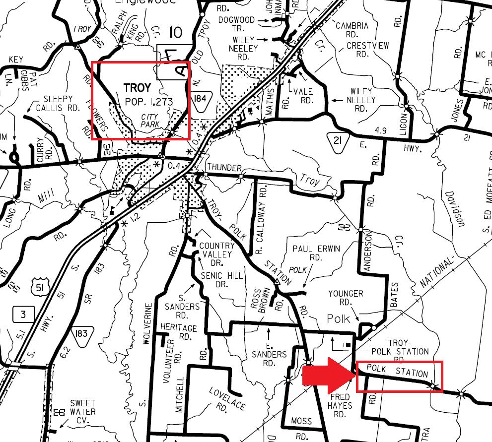 Tdot state tn us maps county co66 pdf