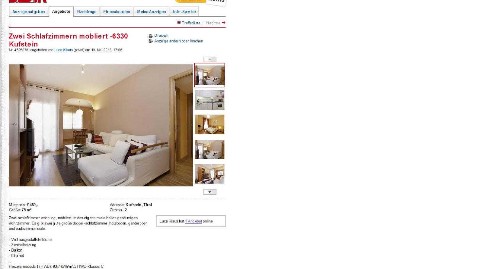 zwei schlafzimmern m bliert. Black Bedroom Furniture Sets. Home Design Ideas
