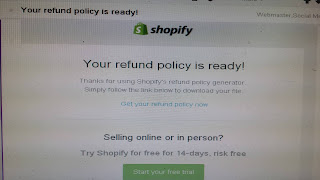 ready refund policy