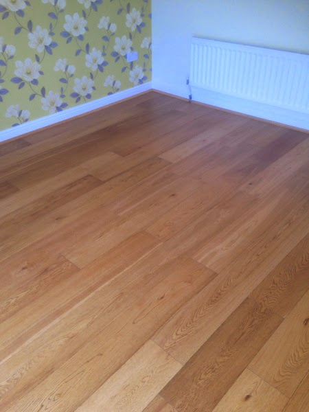 Oak after deep cleaning and oiling with pallmann