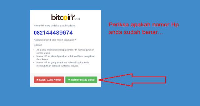 Part 3, periksa nomor handphone untuk verifikasi